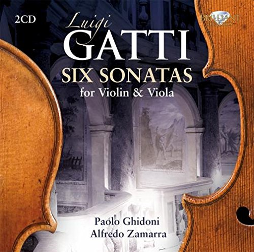 Gatti  – Six sonatas for violin & viola