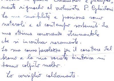Lettera da Kurtag - traduzione