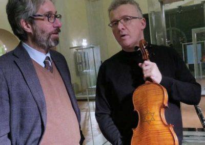 Con il Violino della Shoah