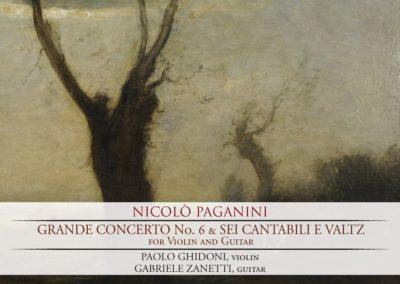 Paganini: Grande Concerto n.6 e Sei Cantabili e Valtz